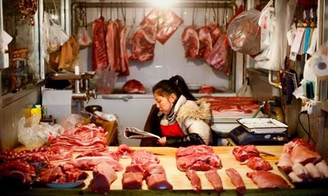 China fake meat