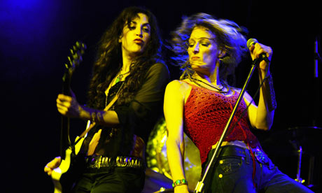 Lez Zeppelin, Vag Halen and AC/DShe – meet the all-female tribute bands