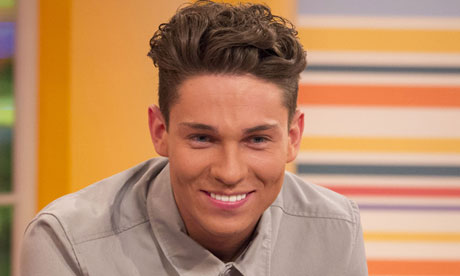 Joey Essex … haircut crisis. Photograph: Ken McKay/Rex Features