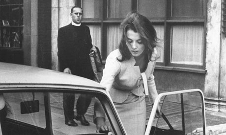 Christine Keeler … her affair with Profumo scandalised the nation.