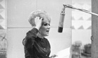 Dusty Springfield in the studio in 1963.