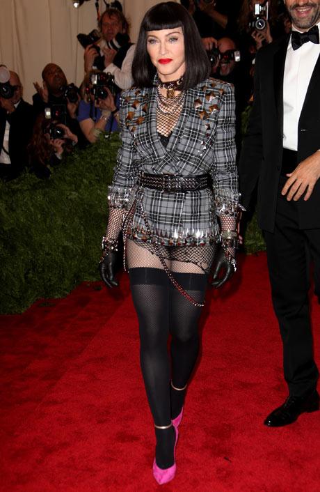 Met ball 2013: Madonna