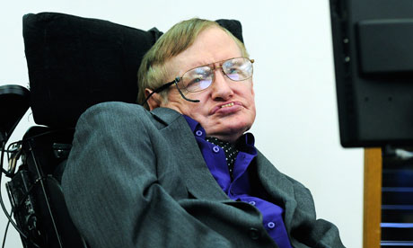 A statement published with Stephen Hawking's approval said his withdrawal was based on advice from academic contacts in Palestine. Photograph: Facundo Arrizabalaga/EPA