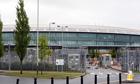 View of GCHQ in Cheltenham