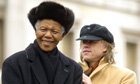 Nelson Mandela and Bob Geldof