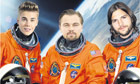 Justin Bieber and the celebronauts