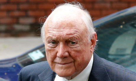 Stuart Hall jailed for indecently assaulting young girls | UK news | The Guardian - Stuart-Hall-008