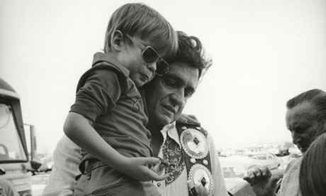 Johnny Cash Daughters Today Johnny cash with his son