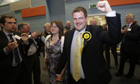 Mark McDonald won the Aberdeen Donside byelection for the SNP.