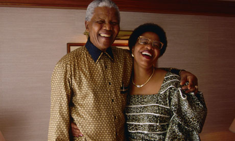 Nelson Mandela and Graca Machel in 1998