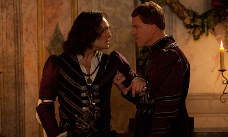 Ed Westwick (left) and Damian Lewis in Romeo and Juliet: try the ...