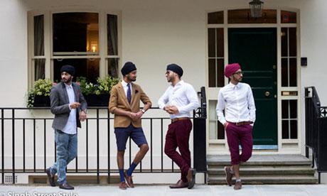 Khám phá: Thời trang khăn đội đầu của các chàng trai người Sikh!