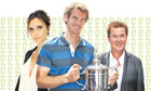 Simon Fuller and Andy Murray