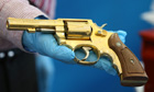 Golden gun seized by police in Dublin