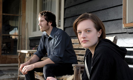 Tom Wright and Elisabeth Moss in Top of the Lake