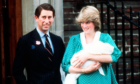 Princess Diana with Baby William