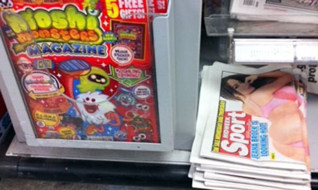 Moshi Monsters next to the Sport.