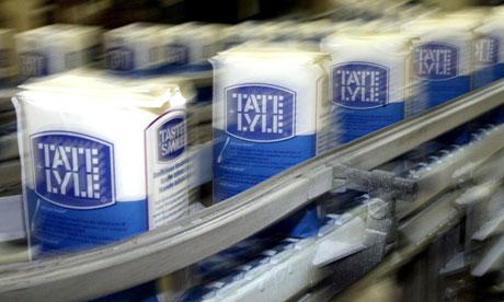Packs of Tate & Lyle granulated sugar
