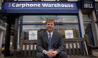 Charles Dunstone of Carphone Warehouse