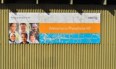 Phosphate Hill Detention Centre in Australia.