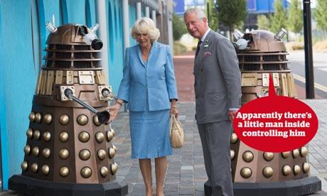 Charles Camilla Dr Who