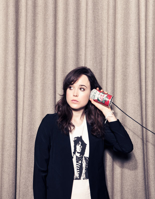 Ellen Page  Why are people so Ellen Page
