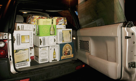 Image result for car full of wine