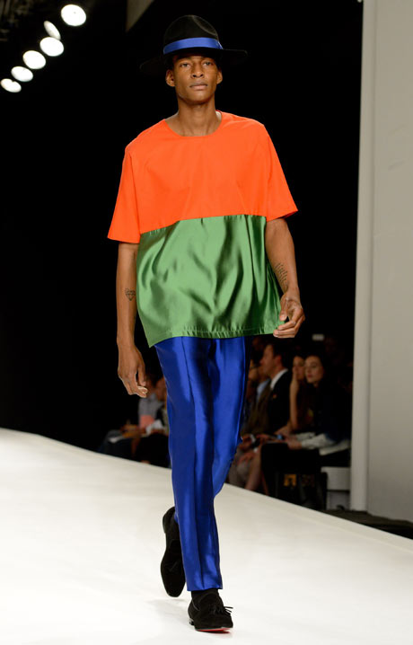 4 trendy trong thời trang nam xuân/hè 2014