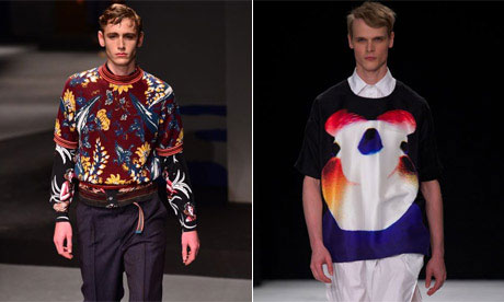 Menswear trends spring summer 2014