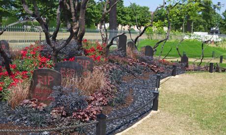 Ashes to Ashes garden