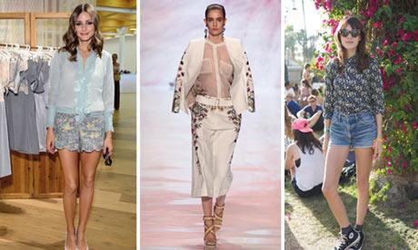 Women's shorts for summer 2013