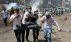 Violence in Cairo, Egypt