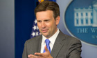 White House deputy press secretary Josh Earnest