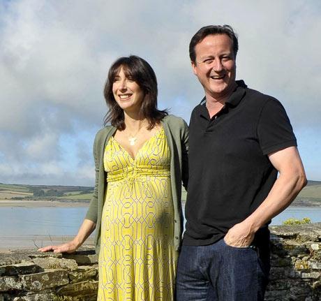 David Cameron summer holiday