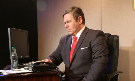 Ian Grieve as Gordon Brown in The Confessions of Gordon Brown.