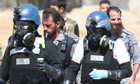 UN chemical weapons experts in Damascus