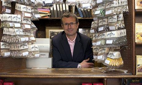 Robert Peston Goes Shopping … the definitive man-in-suit approach.Photograph: BBC