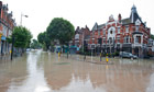 Herne Hill Flooded After Burst Water Main