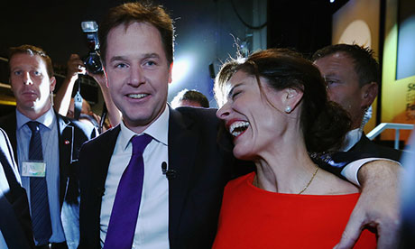 Nick CLegg and Miriam