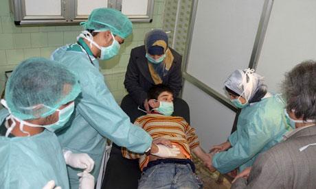 Syria medical aid