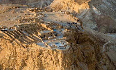 Masada, near the Dead Sea, was excavated 50 years ago. Photograph: Duby Tal/Albatross/Alamy