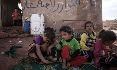 Syria crisis: starving children forced to survive on fruit ...