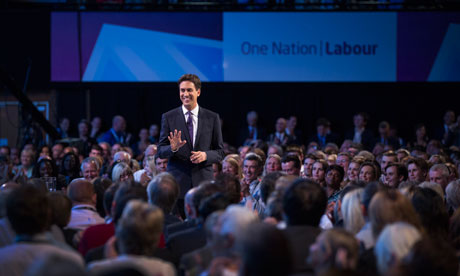 Ed Miliband at Brighton