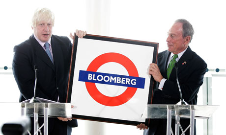Boris Johnson And Michael Bloomberg launch Mayors Challenge