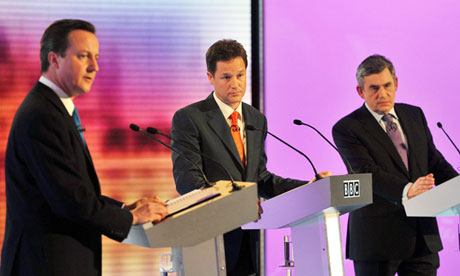 2010 general election televised debate