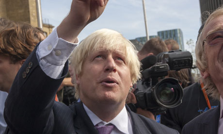 London Mayor Boris Johnson opens Kings Cross Square