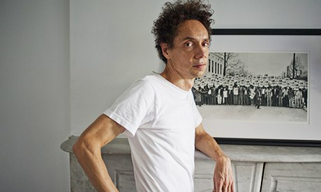 Malcolm Gladwell at his home in New York.