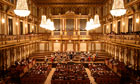 Musikverein concert hall in Vienna