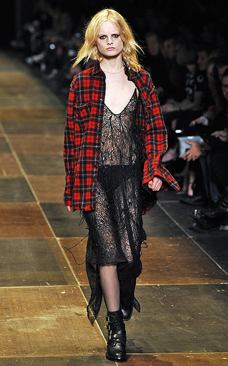 Saint Laurent - Runway - PFW F/W 2013