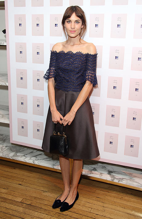 Alexa Chung Launches Her New Book It In Debutante Style